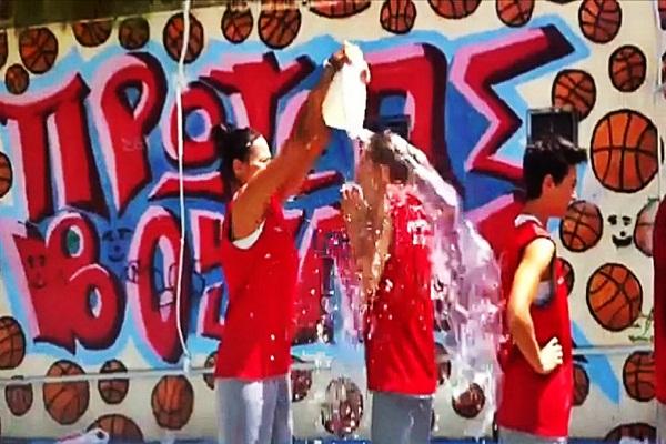 ice bucket challenge από τον Πρωτέα Βούλας (video)