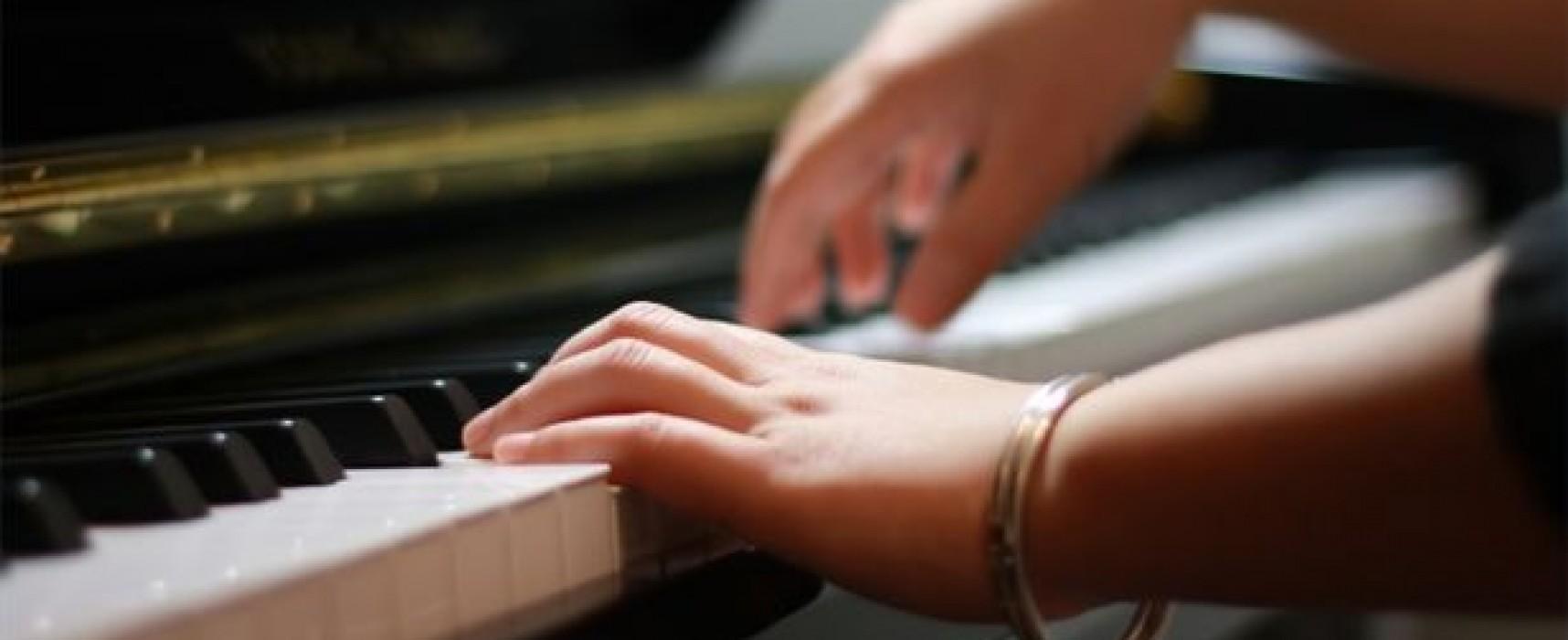 Πιάνο και κιθάρα για τους μαθητές των 3Β στο δημοτικό ωδείο