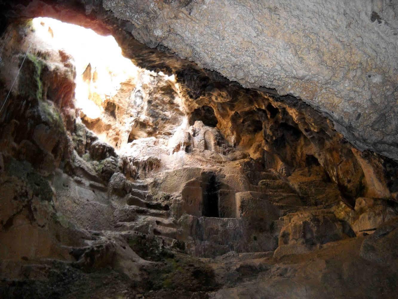 Στο σπήλαιο του Νυμφόληπτου με τους Πανοραματιστές