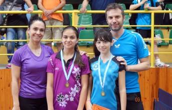 5 αθλητές των 3Β στο ευρωπαϊκό πρωτάθλημα πινγκ πονγκ