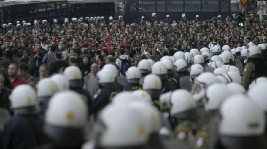 Σε κατάσταση πολιορκίας η Αθήνα μετά την απαγόρευση συγκεντρώσεων-πορειών