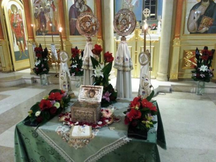 Ιερά λείψανα επαναπατρίστηκαν στην Παναγία Φανερωμένη της Βουλιαγμένης