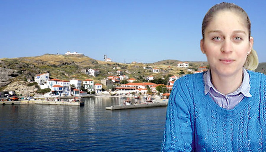 H 27χρονη Δήμαρχος Άη Στράτη παλεύει να έρθει ξανά πλοίο στο νησί