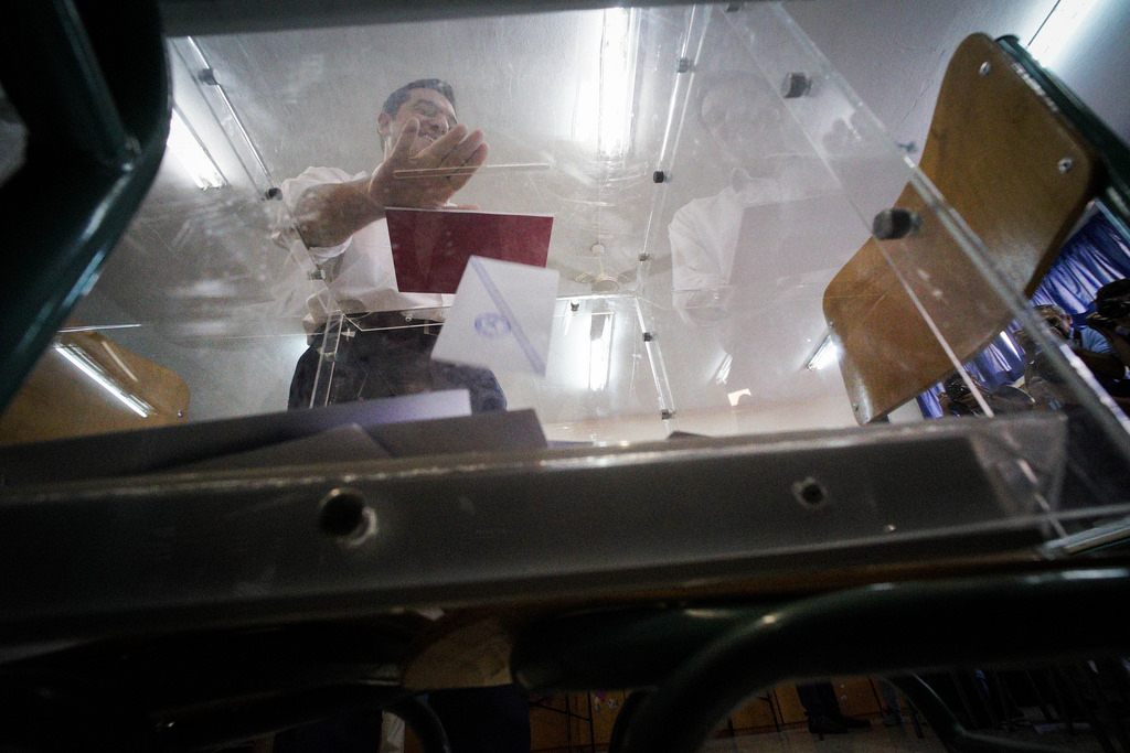 Αισιόδοξος δήλωσε ο Αλέξης Τσίπρας για το εκλογικό αποτέλεσμα