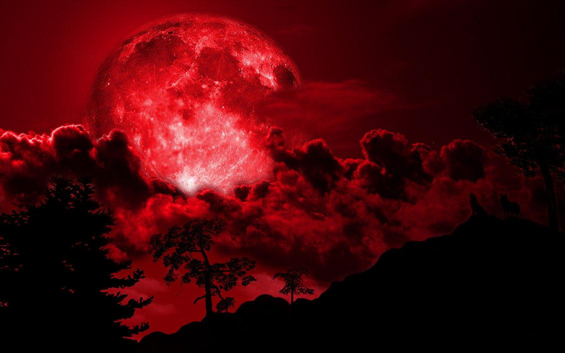 «Ματωμένο φεγγάρι» χαράματα της Δευτέρας: υπερπανσέληνος και έκλειψη Σελήνης ταυτόχρονα!