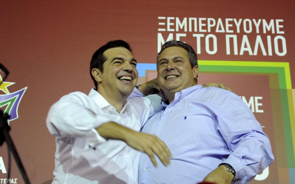 Τα λαμπερά πρόσωπα της νύχτας των εκλογών