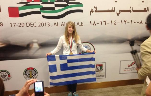 Πρωταθλήτρια κόσμου η 15χρονη Σταυρούλα Τσολακίδου
