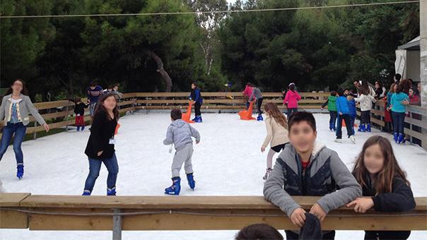 Παγοδρόμιο και αυτά τα Χριστούγεννα στη Βούλα