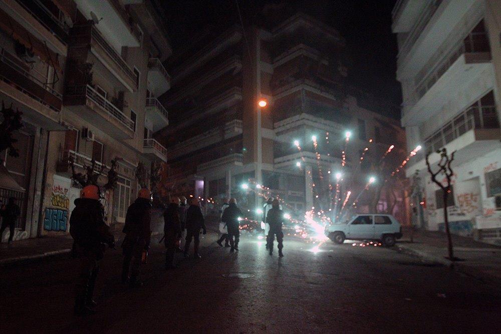 Πώς γιόρτασαν την 6η Δεκέμβρη στα Εξάρχεια (photos)