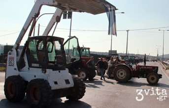 Επ' αόριστον κλείνουν οι αγρότες της Αττικής τον κόμβο στο Κορωπί