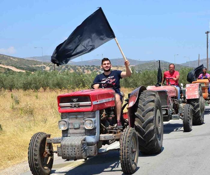 Ζεσταίνουν τρακτέρ οι αγρότες της Ανατολικής Αττικής