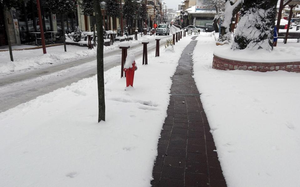 Θερμαινόμενο πεζοδρόμιο: Δεν θα το χρειαστούμε... αλλά μας αρέσει!