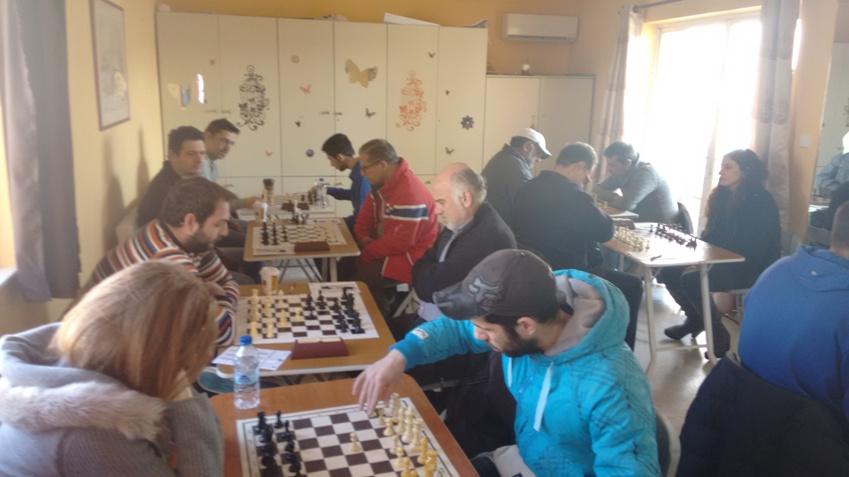 Στην κορυφή οι σκακιστές του Λεύκιππου Βάρης
