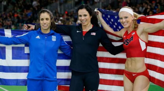 Μεγάλη επιτυχία για τον ελληνικό αθλητισμό το χάλκινο μετάλλιο της Κατερίνας Στεφανίδη