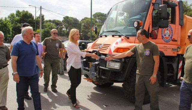 Η Περιφέρεια Αττικής ενισχύει την πυροπροστασία