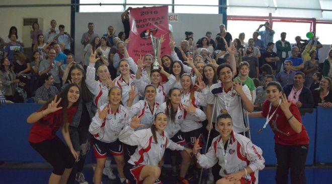 Πρωταθλήτριες Ελλάδας στο μπάσκετ οι νεάνιδες του Πρωτέα Βούλας