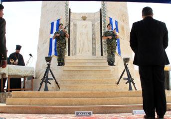 Τίμησαν τους πεσόντες καταδρομείς στο Καβούρι (photos-video)