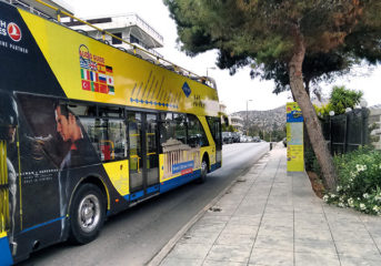 Ανοιχτά λεωφορεία στην Αθηναϊκή Ριβιέρα