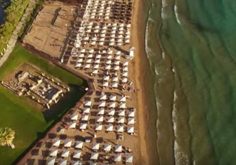 Ο Αστέρας Βουλιαγμένης από ψηλά (drone video)