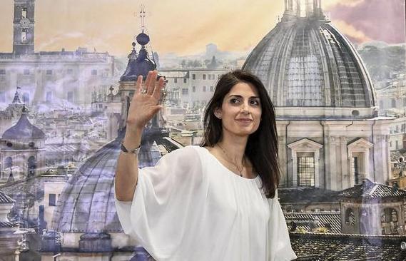 H 37χρονη Βιρτζίνια Ράτζι είναι η πρώτη γυναίκα δήμαρχος της Ρώμης!