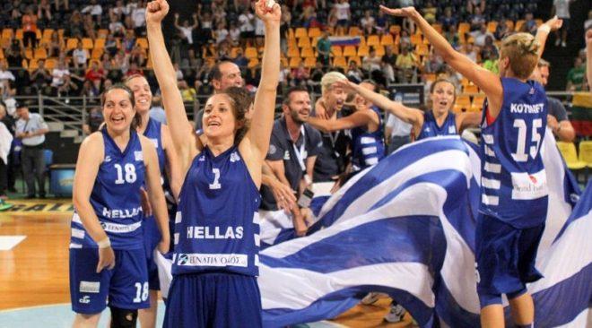 Πρωταθλήτρια Ευρώπης η Εθνική κωφών γυναικών! (βίντεο)