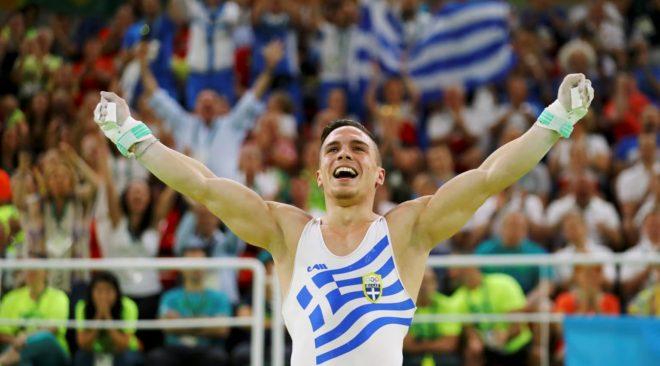 «Ναι, ρε Ελλάδα»: Το ξέσπασμα χαράς του χρυσού ολυμπιονίκη (βίντεο)