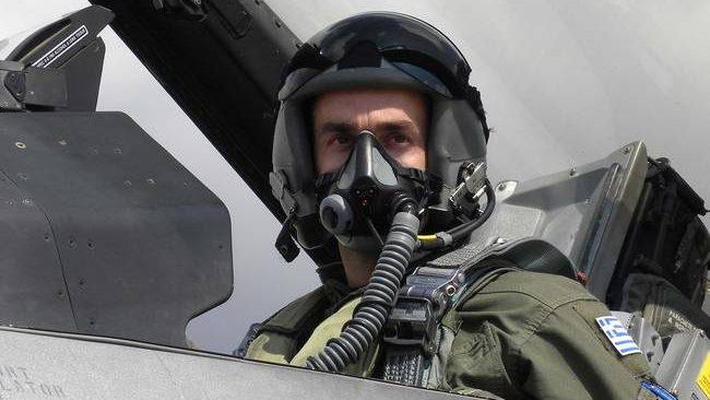 Το μήνυμα του πιλότου: «Να κρατήσουμε την Ελλάδα και τη σημαία μας  ψηλά»