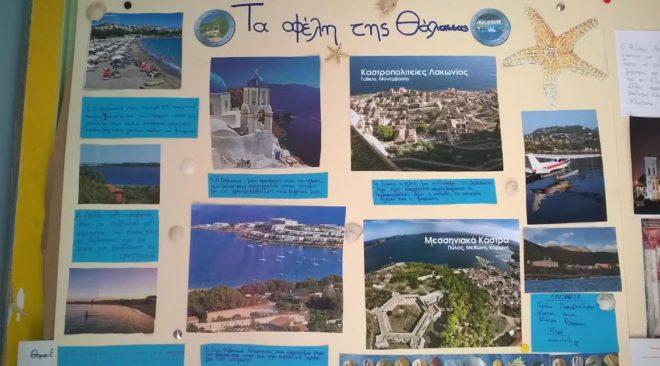 """Το """"Χρυσοπράσινο φύλλο"""" ήρθε από την Κύπρο στο 2ο Δημοτικό Βούλας"""