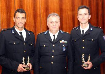 Βραβείο για τις επιδόσεις του στον Υποπυραγό Χρήστο Αφρουδάκη