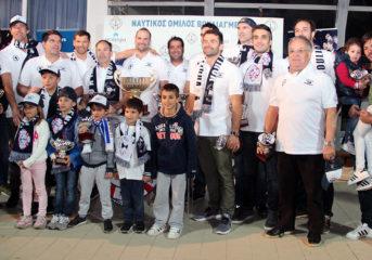 Οι μπέμπηδες του ΝΟ Βουλιαγμένης ξανά μαζί, 20 χρόνια μετά το Κύπελλο