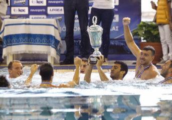 Κυπελλούχος Ελλάδας στο πόλο Ναυτικός Όμιλος Βουλιαγμένης!