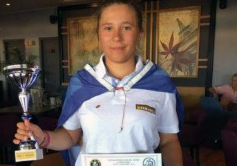 Δεύτερη θέση στο Πανελλήνιο Πρωτάθλημα για την Άννα Νικολάου του ΝΟΚΒ