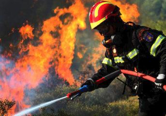 Εκδήλωση μνήμης για τον πεσόντα εθελοντή της πυρκαγιάς των Καλυβίων