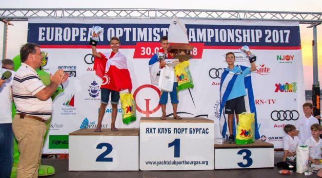 Πανευρωπαϊκό μετάλλιο στα optimist από τον ΝΟΚΒ