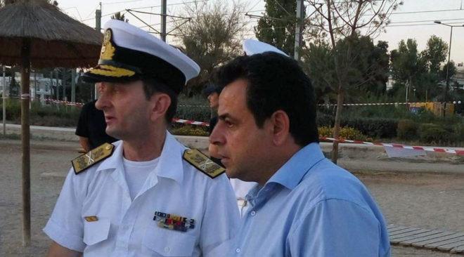Επιθεώρηση στο παραλιακό μέτωπο από τον υφυπουργό Ναυτιλίας