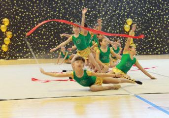 Διασυλλογικό πρωτάθλημα ρυθμικής γυμναστικής στη Βάρη