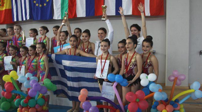 Χάλκινο μετάλλιο στη Σόφια για την Ελαία και την αισθητική ομαδική γυμναστική