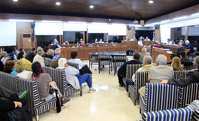 Η τελευταία συνεδρίαση του παλιού Δημοτικού Συμβουλίου
