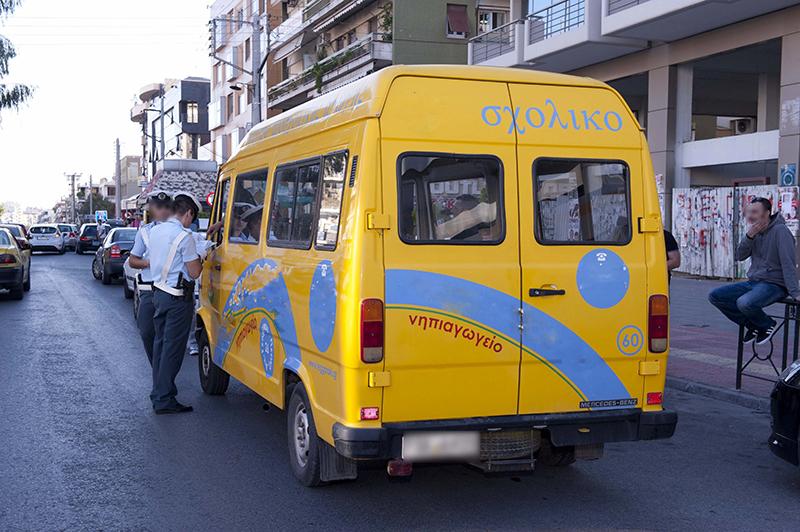 Επί ποδός η τροχαία για ελέγχους σε σχολικά λεωφορεία (video)