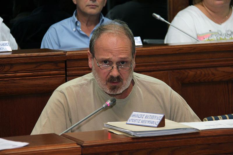 Ματόπουλος: Προτάσεις για ένα δημοκρατικό Δημοτικό Συμβούλιο