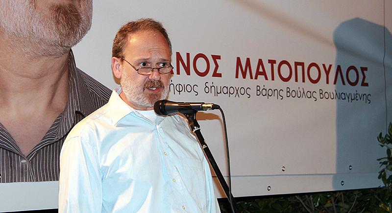 Διά της ...Αυγής υποψήφιος Δήμαρχος 3Β ο Θάνος Ματόπουλος