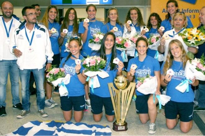 Πρωταθλήτρια Ευρώπης η Εθνική νέων γυναικών πόλο