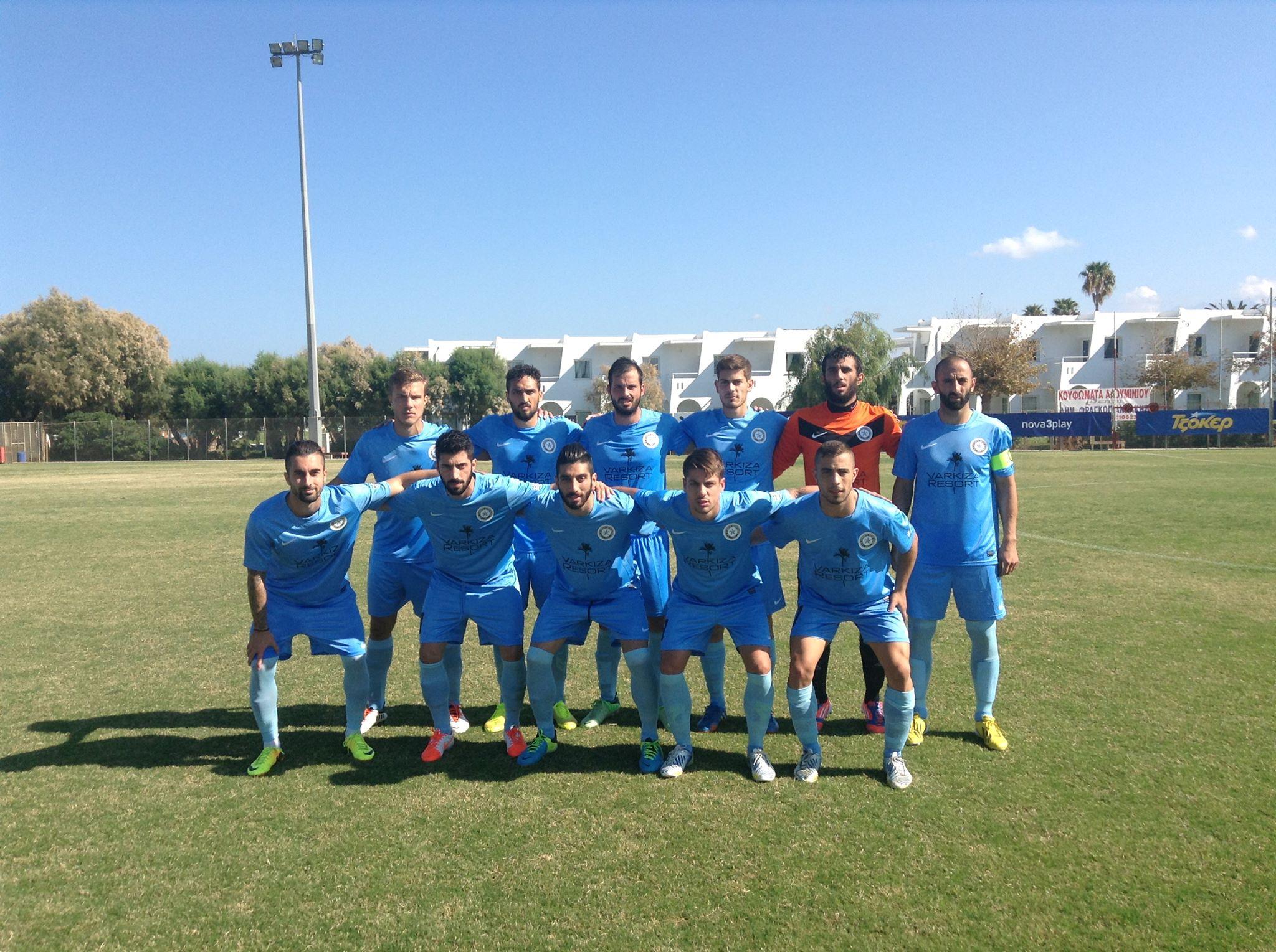Ήττα με 3-1 του Κυανού Αστέρα από τον Ηλυσιακό (video)