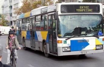 Κατέστρεψαν ακυρωτικά μηχανήματα λεωφορείου στη Βάρη