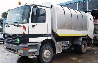 Ο Δήμος 3Β προσφέρει απορριμματοφόρο στην Τήνο για το καλοκαίρι
