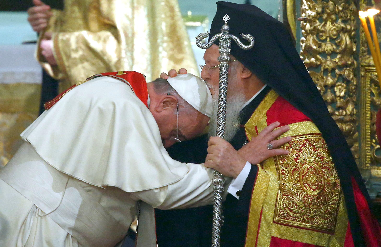 Ιστορική συλλειτουργία Πάπα-Βαρθολομαίου