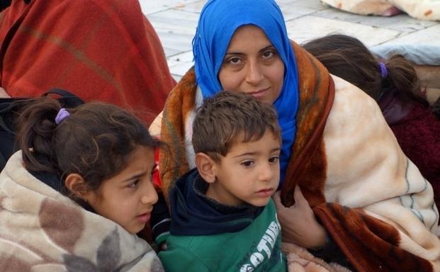 Έμπρακτη αλληλεγγύη στους πρόσφυγες στη Βούλα