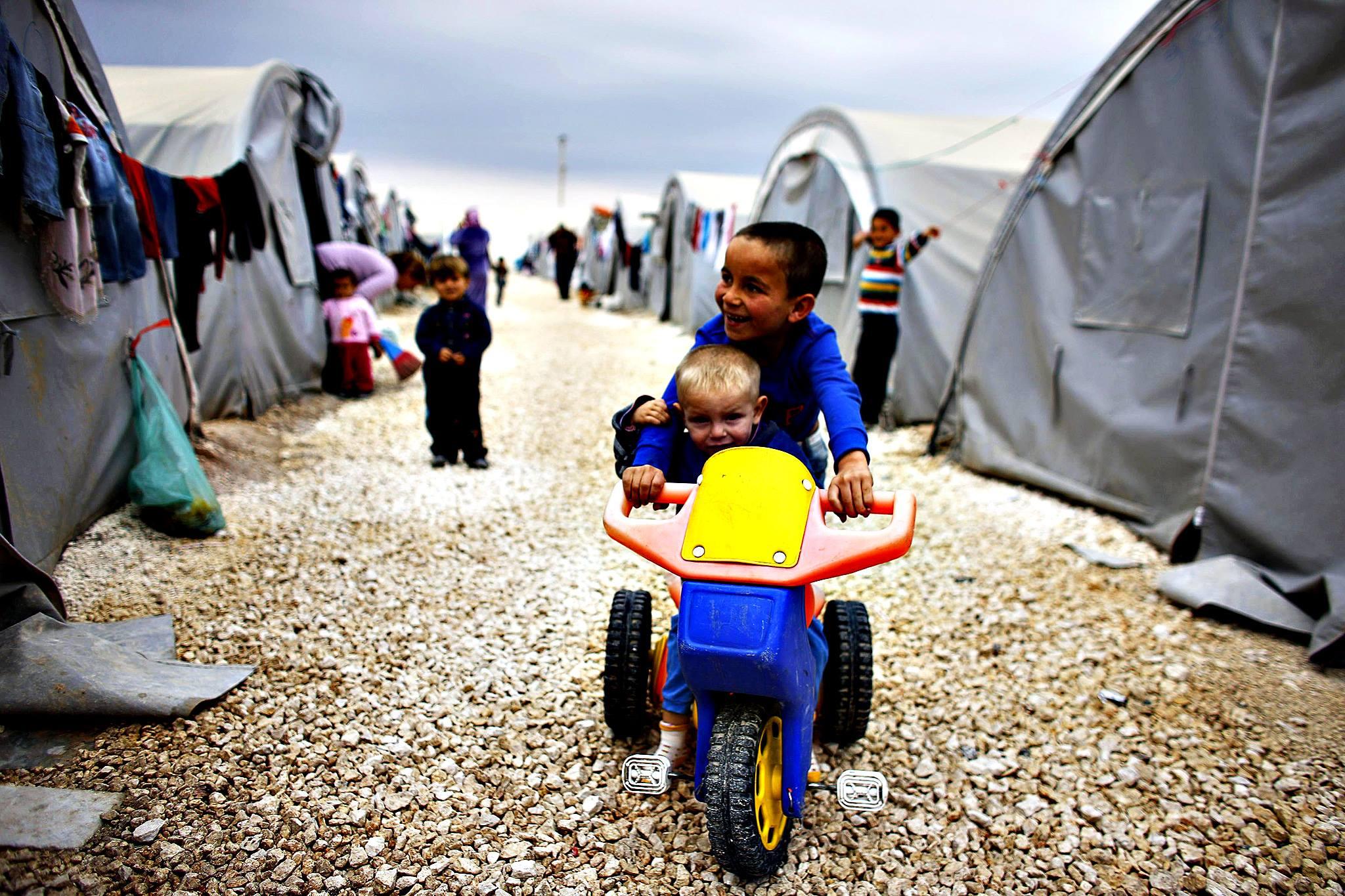 Αλληλεγγύη του Δήμου 3Β στους πρόσφυγες του Κομπάνι