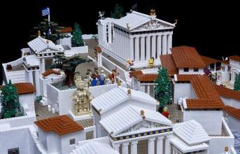 Η Ακρόπολη σε μακέτα με τουβλάκια lego! (photos)