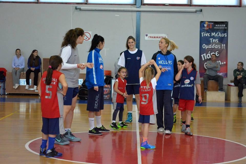 Έσμιξαν το παρόν και το μέλλον του γυναικείου μπάσκετ (vid+pics)